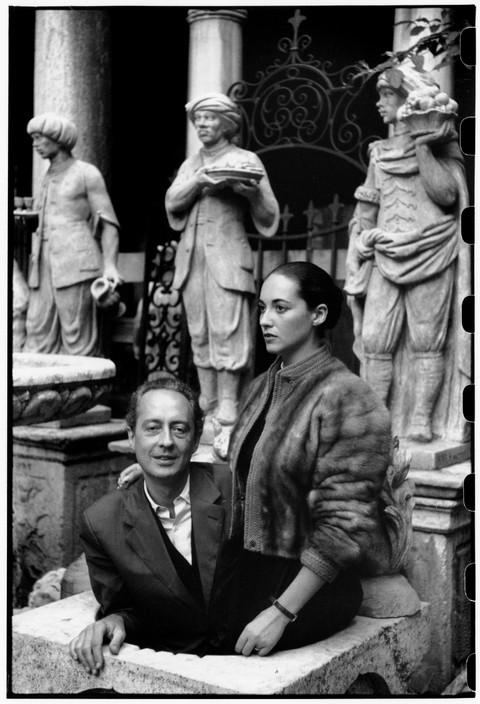 Bona and André Pieyre de Mandiargues